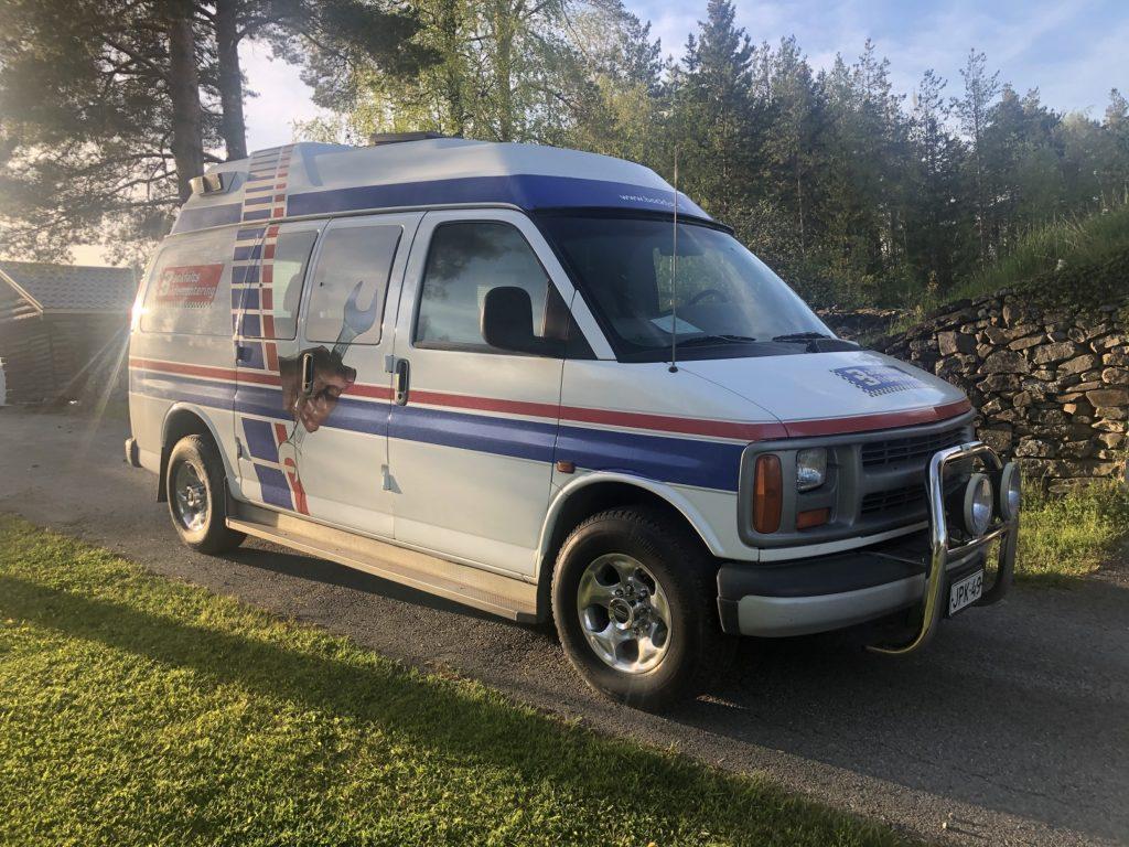 Chevy Van 1996